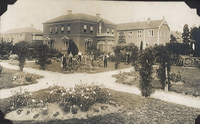 Holy Cross College and Gardens May 1925