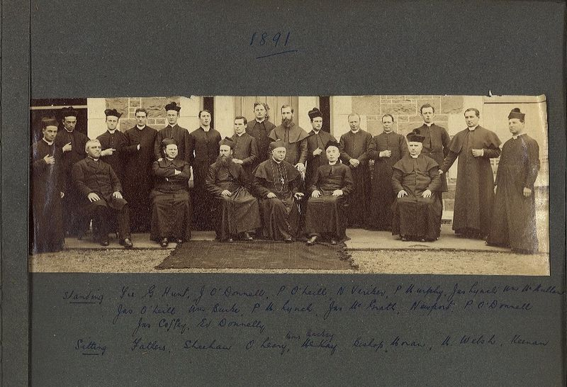 Staff and students 1891