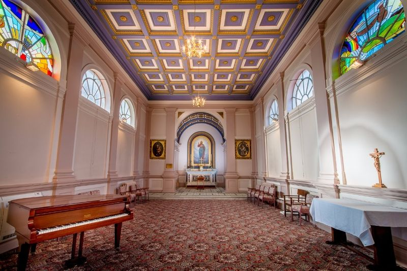 The Chapel with Baby Grand Piano