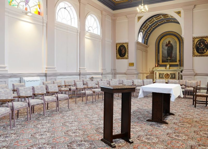 Conferences or Wedding Ceremony in the Chapel