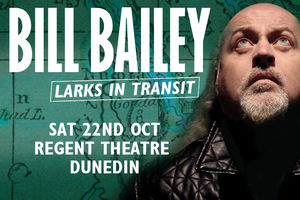 Bill Bailey ,Comedian Extraordinaire at The Regent Theatre 21 October 2016